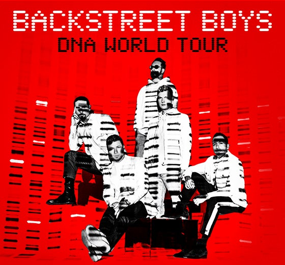 More Info for Backstreet Boys / NEW DATE