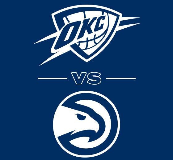 More Info for OKC Thunder vs. Atlanta Hawks