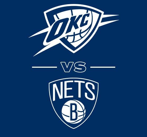 More Info for OKC Thunder vs. Brooklyn Nets