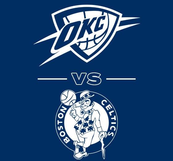 More Info for OKC Thunder vs. Boston Celtics