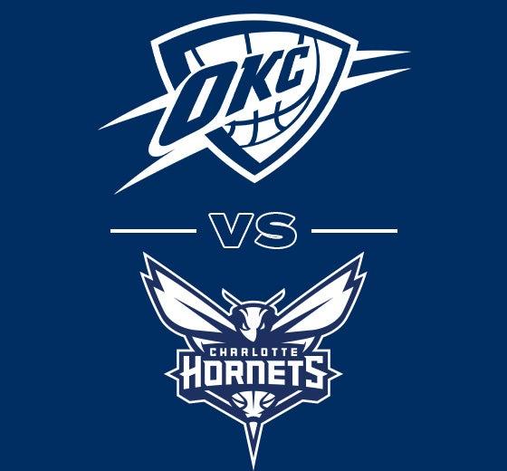 More Info for OKC Thunder vs. Charlotte Hornets