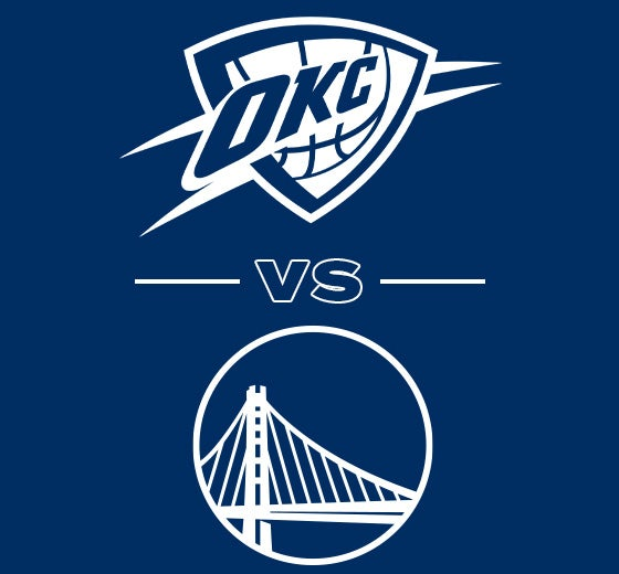 More Info for OKC Thunder vs. Golden State Warriors