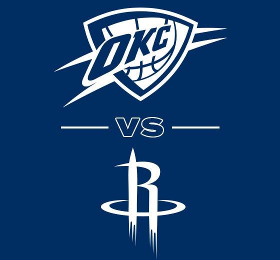 More Info for OKC Thunder vs. Houston Rockets