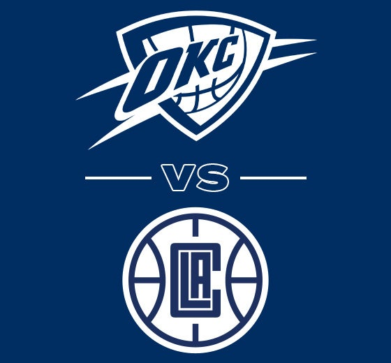 More Info for OKC Thunder vs. Los Angeles Clippers