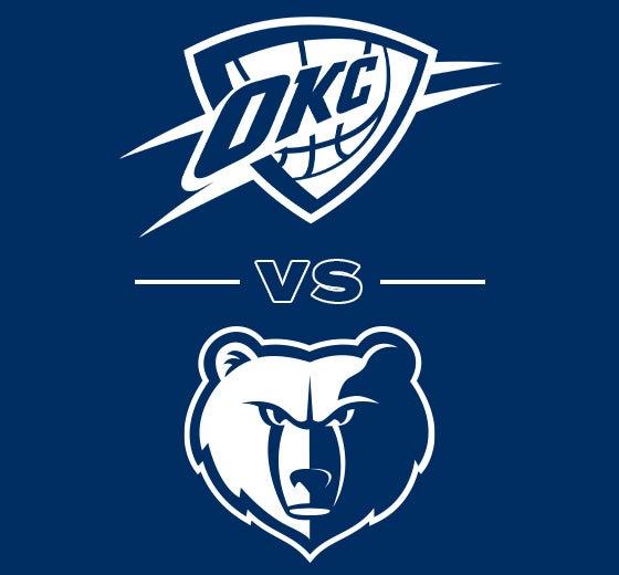 More Info for OKC Thunder vs. Memphis Grizzlies
