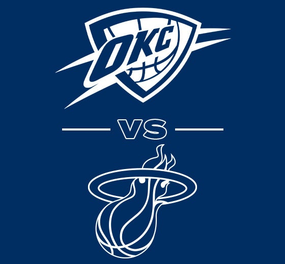 More Info for OKC Thunder vs. Miami Heat