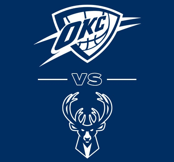 More Info for OKC Thunder vs. Milwaukee Bucks