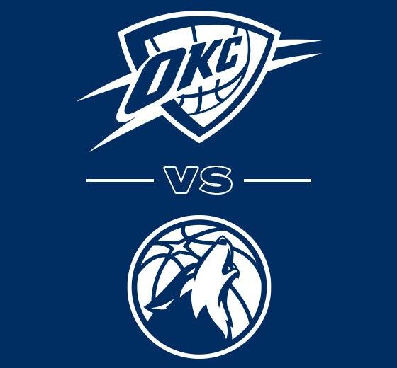 More Info for OKC Thunder vs. Minnesota Timberwolves