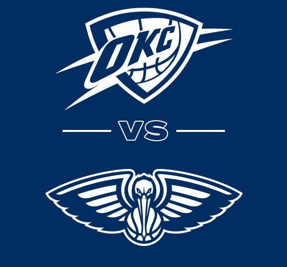 More Info for OKC Thunder vs. New Orleans Pelicans