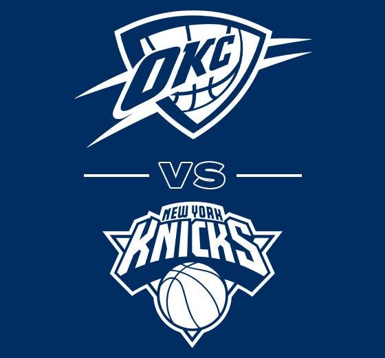 More Info for OKC Thunder vs. New York Knicks