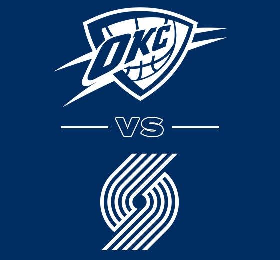 More Info for OKC Thunder vs. Portland Trailblazers