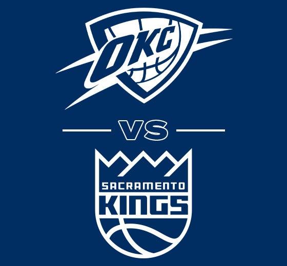 More Info for OKC Thunder vs. Sacramento Kings