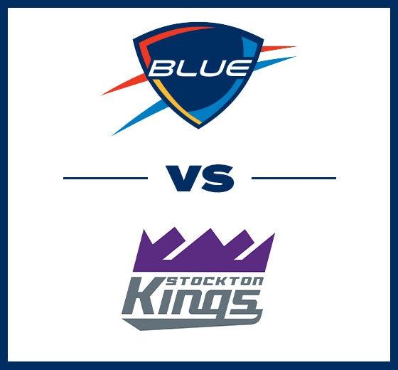 More Info for OKC Blue vs. Stockton Kings