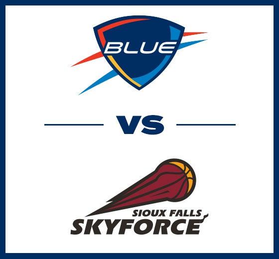 More Info for OKC Blue vs. Sioux Falls Skyforce