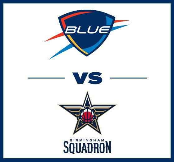 More Info for OKC Blue vs. Birmingham Squadron