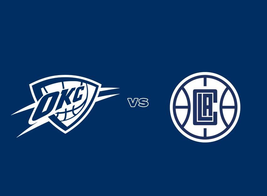 OKC Thunder vs. Los Angeles Clippers