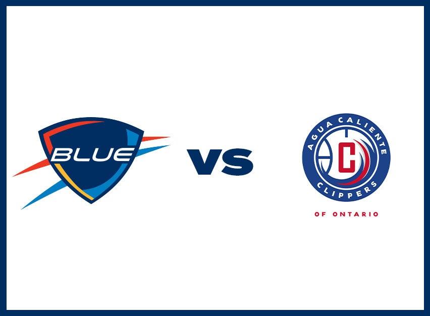 OKC Blue vs. Agua Caliente Clippers