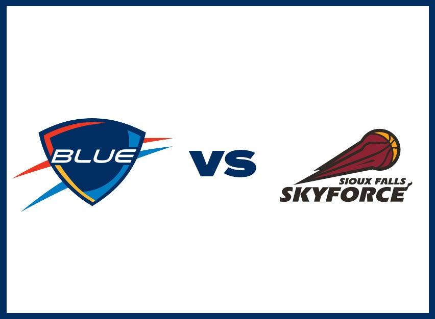 OKC Blue vs. Sioux Falls Skyforce