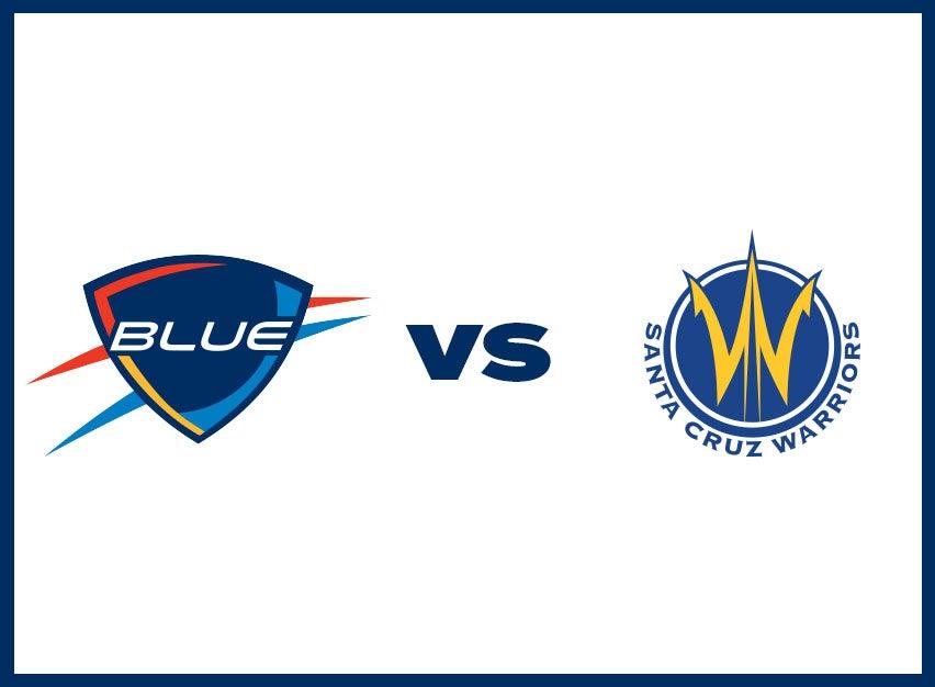 OKC Blue vs. Santa Cruz Warriors