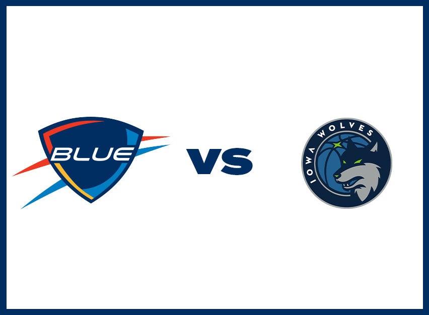 OKC Blue vs. Iowa Wolves