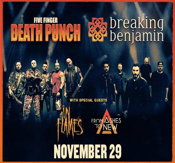 More Info for Five Finger Death Punch & Breaking Benjamin