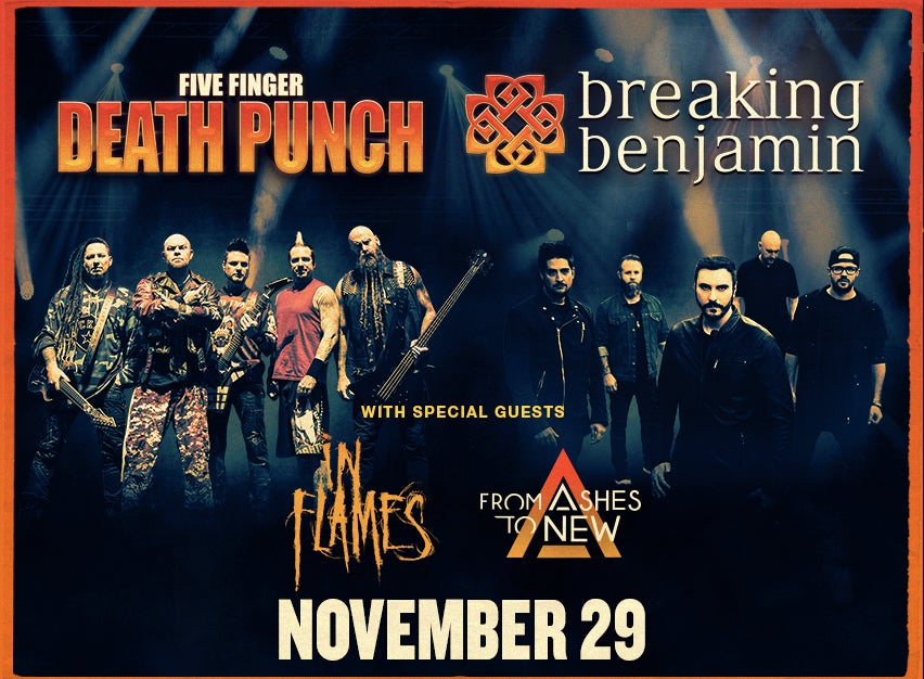 Five Finger Punch Breaking Benjamin