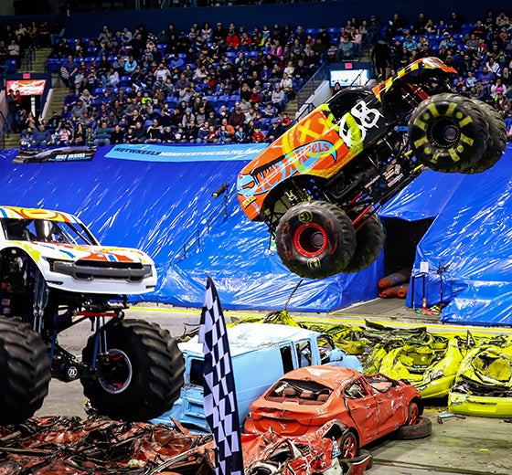 More Info for Hot Wheels™ Monster Trucks Live Announces Tour Stop at  Chesapeake Energy Arena on September 21st