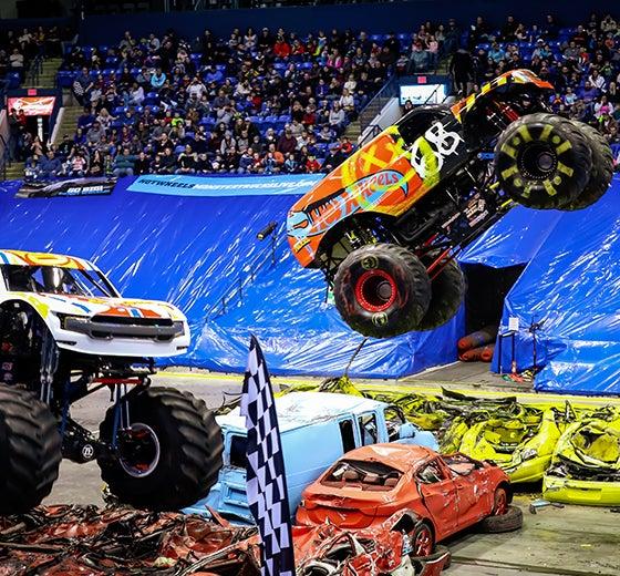 More Info for Hot Wheels™ Monster Trucks Live Announces Tour Stop at  Chesapeake Energy Arena on September 21st