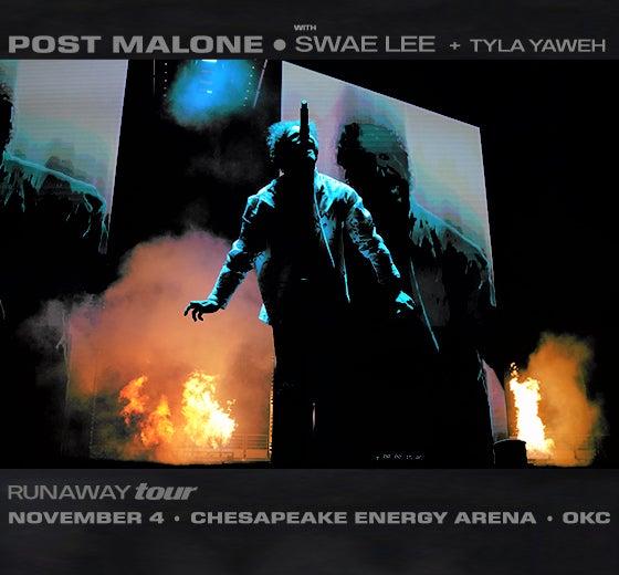 Post Malone | Chesapeake Energy Arena