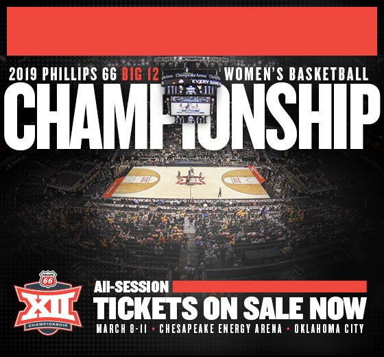 More Info for 2019 Phillips 66 Big 12 Women's Basketball Championship